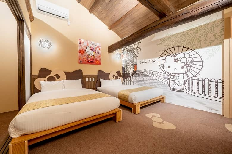 Resi Stay, Maiko Hello Kitty Room in Kyoto