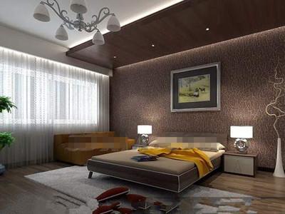 Dormitorios en color marrón chocolate   colores en casa