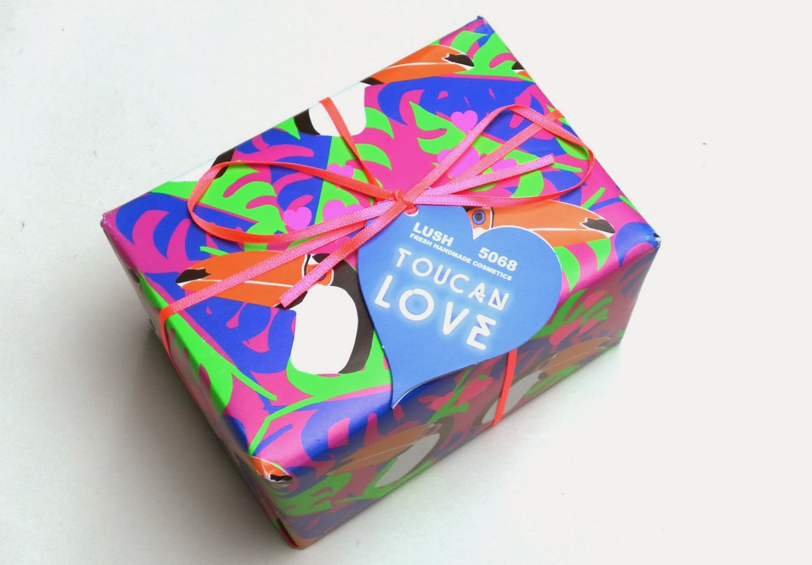 Lush Toucan Love for Valentine's Day