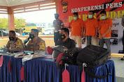 Berdasarkan Rekaman CCTV, Polres Pidie Ringkus Pencuri Uang Nasabah Bank Lintas Provinsi