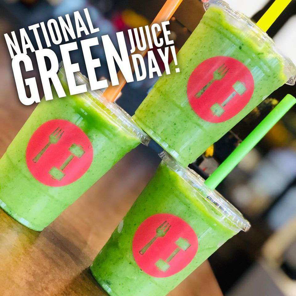 National Green Juice Day Wishes Unique Image