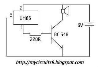 simple melody maker circuit