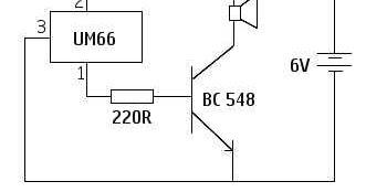Melody Maker Circuit Diagram.Simple Melody Maker Circuit Mycircuits9