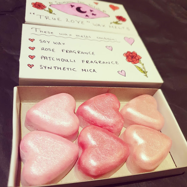 True Love Heart Wax Melts