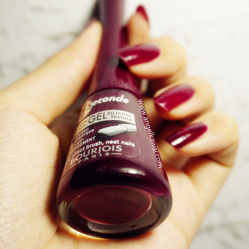 The Nail Artinya: Angelkawai's Diary: BOURJOIS 1 Seconde Gel Nail Polish