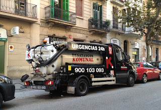 Urgencias en Badalona, limpieza de tuberías y desatranques