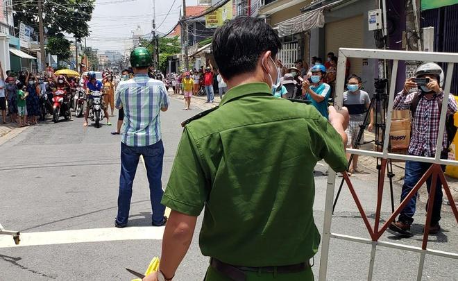 Dỡ phong tỏa khu dân cư gần 600 người ở Đồng Nai