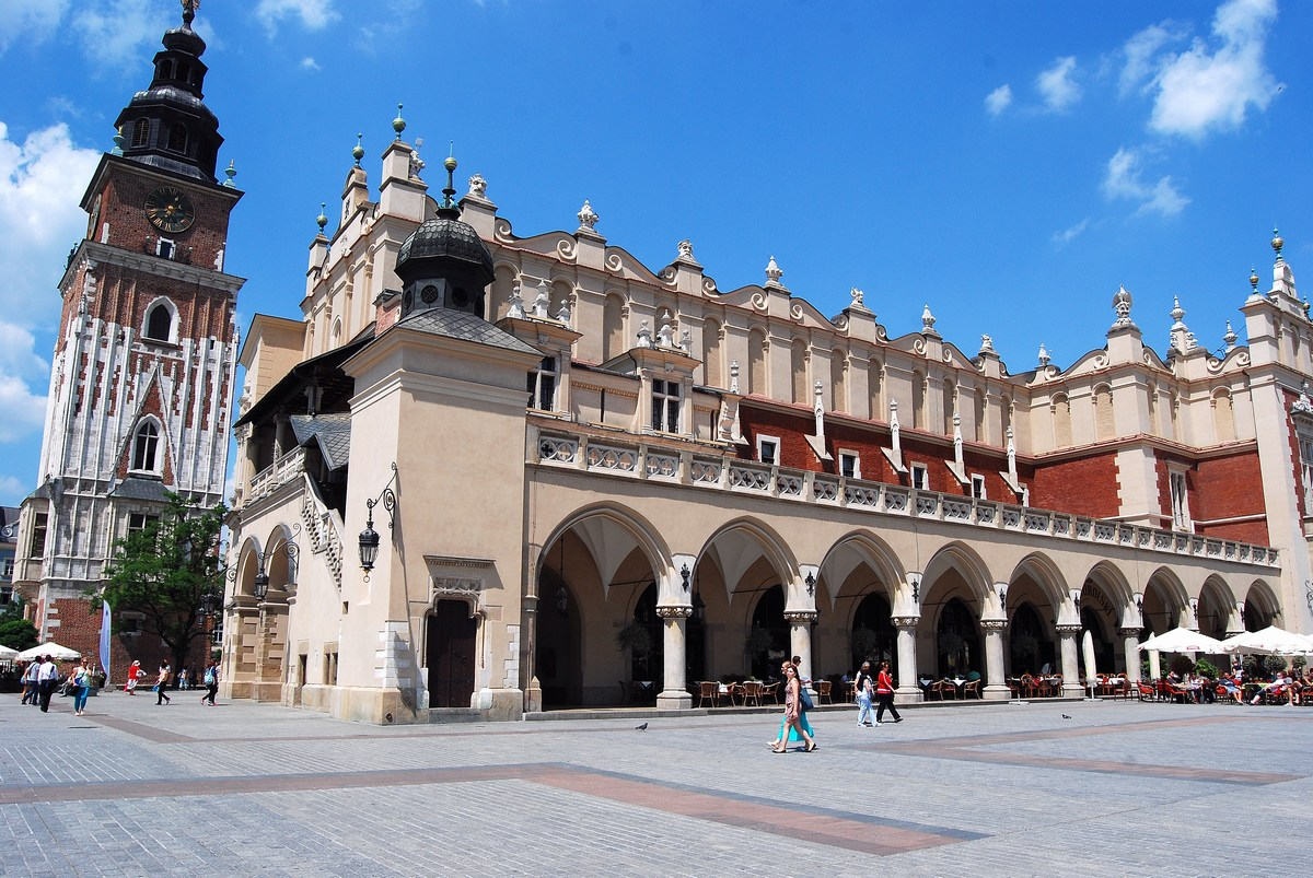 halle aux draps Cracovie