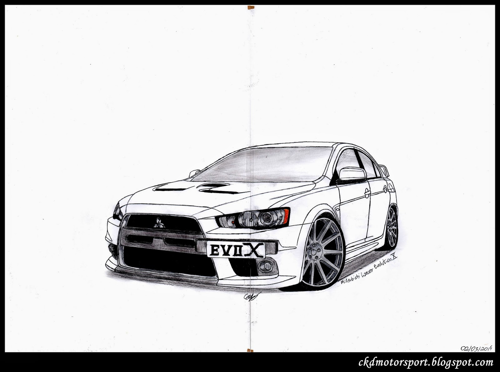 Ckd Motorsport Mitsubishi Lancer Evolution X
