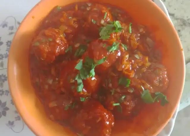 Veg Manchurian recipe in hindi