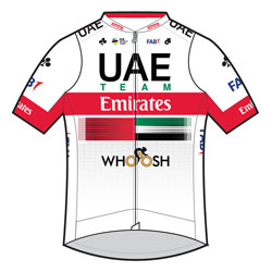 La plantilla del UAE Team Emirates 2020