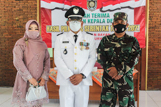 Sersan Mayor Suhadi Idola Warga Dukuhrejo Bayan,Dilantik  Bupati Jadi Kades