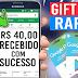 GANHE GIFT CARD DE R$ 40 RÁPIDO!! NOVO APLICATIVO PARA GANHAR GIFT CARD TODA SEMANA SEM CONVIDAR!!