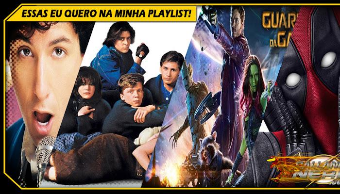 08 FILMES COM AS MELHORES TRILHAS MUSICAS!