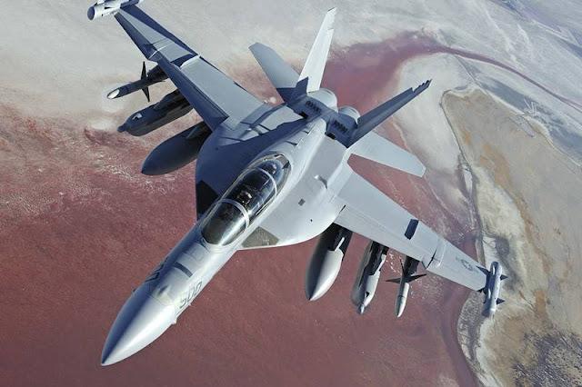 Boeing Navy Growler upgrade