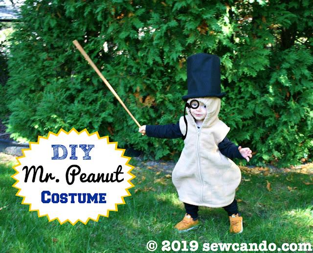 mister peanut costume
