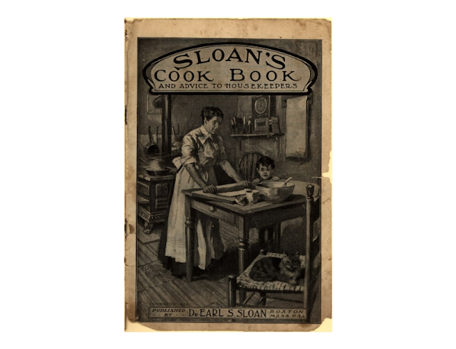 Kristin Holt | Late Victorian-Era Beauty Secrets. Cover image: Dr. Sloan's Cook Book and Advice to Housekeepers