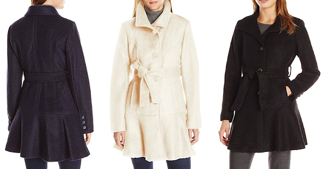 Jessica Simpson Boucle Coat for only $41 (reg $210)