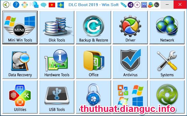 Download DLC Boot 2019 V3.6 – Công Cụ Cứu Hộ Máy Tính Chuyên Nghiệp