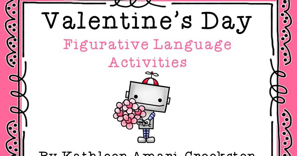 middle grades maven valentine 39 s day figurative language activities. Black Bedroom Furniture Sets. Home Design Ideas