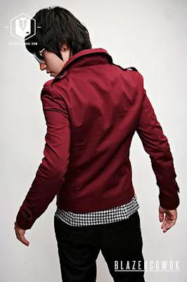 blazer cowok blazercowok.com jaket korean jas pria sk22 c