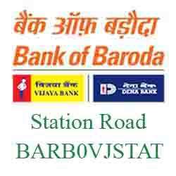 Vijaya Baroda Bank Station Road Branch New IFSC, MICR
