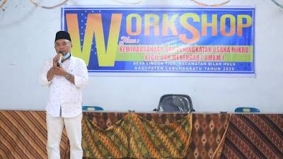 Bupati Labuhanbatu Hadiri Workshop Kewirausahaan Dan Peningkatan UMKM