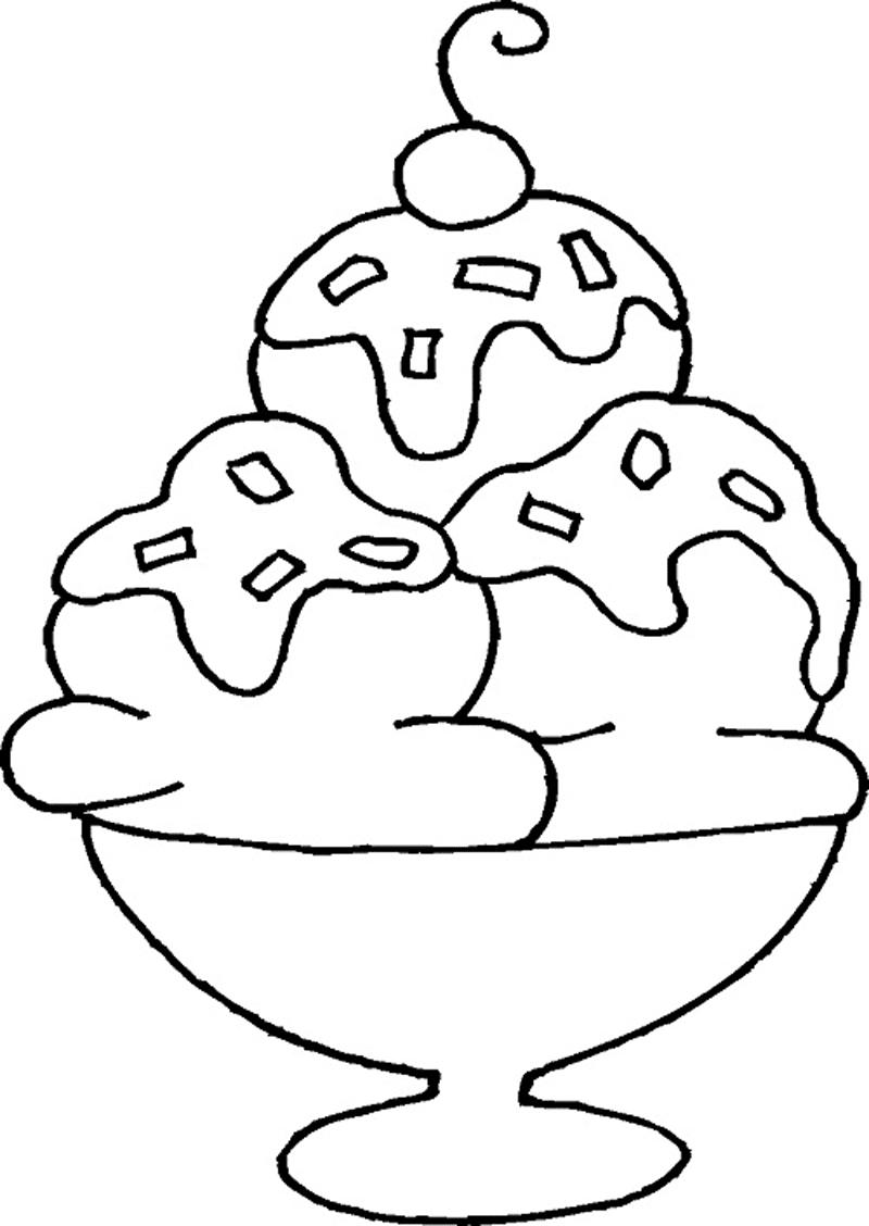 Gambar Mewarnai Ice Cream 10