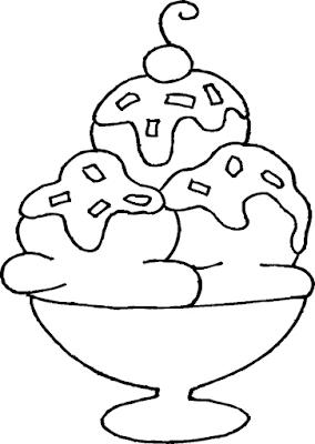 Gambar Mewarnai Ice Cream - 10