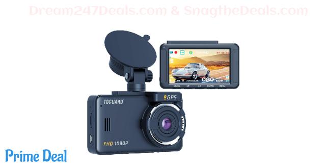 60% OFF Dash Cam Built-in GPS 1080P Full HD