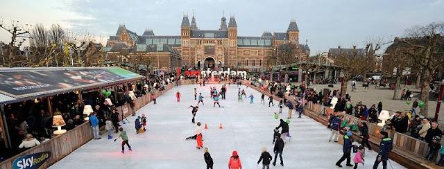 Amsterdã em dezembro