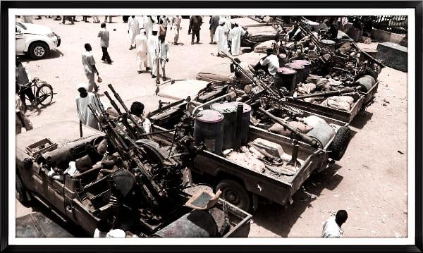 مخاوف كبيره عقب بدء تنفيذ اخراج المسلحين من السودان