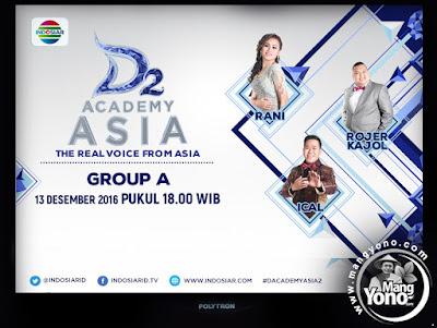 D'Academy Asia 2 Babak 6 Besar Grup A : Ical, Rani dan Rojer K