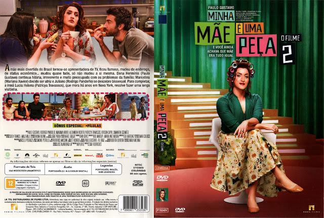 Capa DVD Minha Mãe É Uma Peça 2