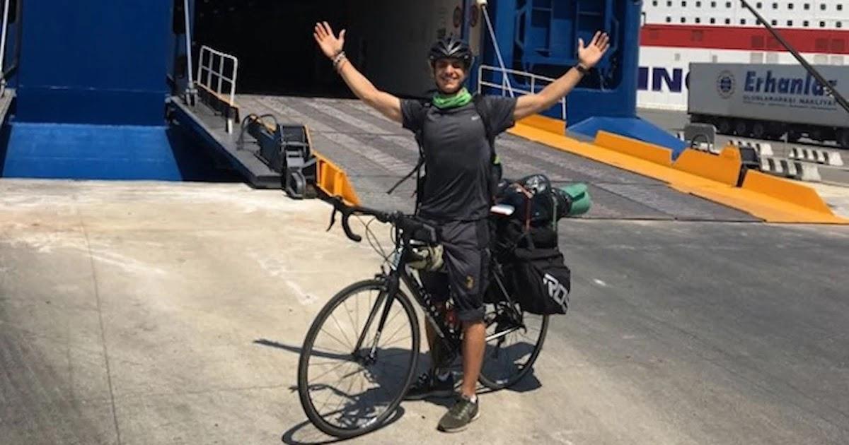Homesick Student Cycles 3,500km Across Europe From Aberdeen, Scotland, To His Hometown In Athens, Greece