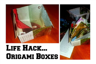 Life Hack : Easy-To-Make Origami Box