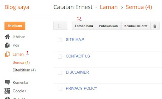Cara Mudah Mendaftarkan Privacy Policy Untuk Blog