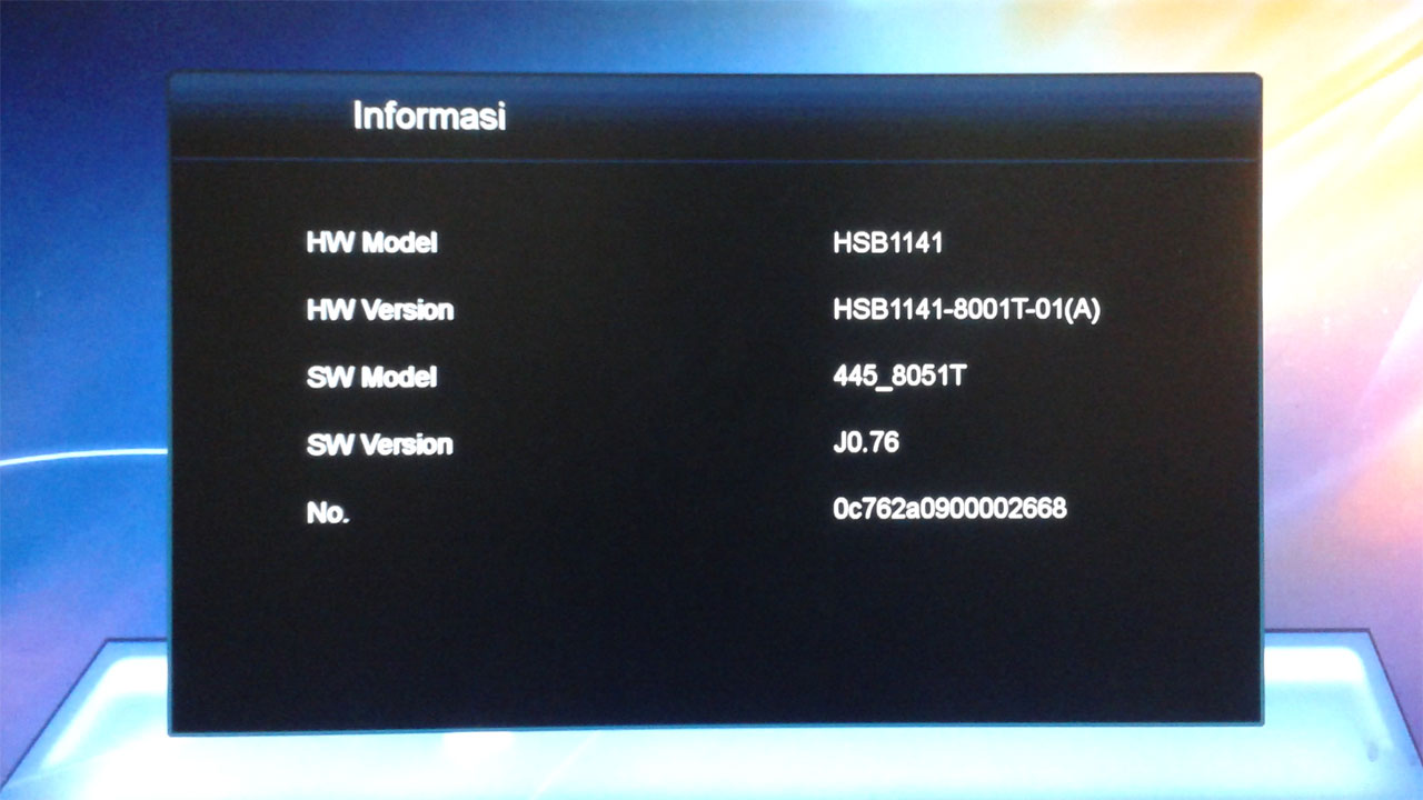 Firmware Skybox A1 Plus H.265 Software Update SW Terbaru