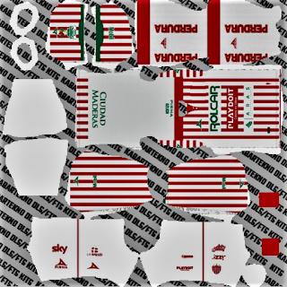 Club Necaxa Home Kits 21/22 DLS Kit 2021