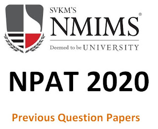 NMIMS NPAT Previous Question Papers and Syllabus 2019 – Model Papers
