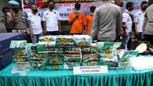 Ungkap Kasus Narkotika Jaringan Medan - Aceh - Pulau Jawa