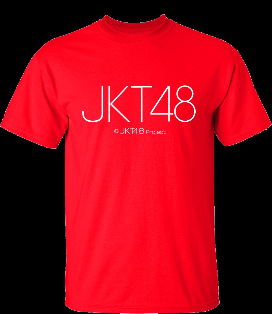 Desain t shirt jkt48 - Jkt48 Lg T Shirt Red