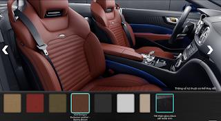 Nội thất Mercedes SL 400 2016 màu Nâu Sienna X24
