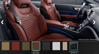 Nội thất Mercedes SL 400 2019 màu Nâu Sienna X24