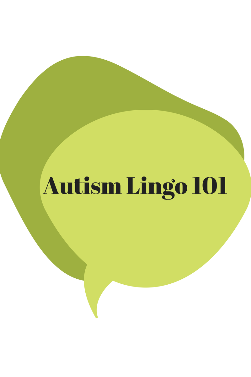 Autism Lingo 101 on One Quarter Mama.ca