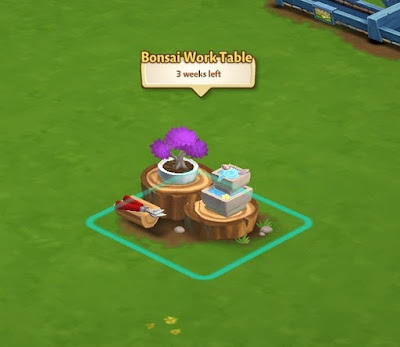 Farmville 2 table work bonsai 1