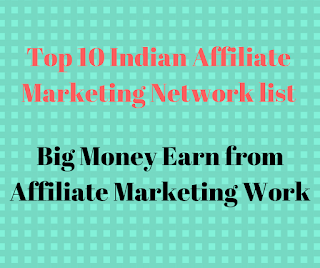 Top 10 Indian Affiliate Marketing Network