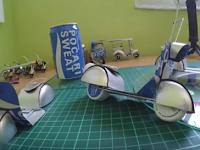 Cara Membuat Miniatur Vespa Dari Kaleng Bekas Beserta Gambarnya