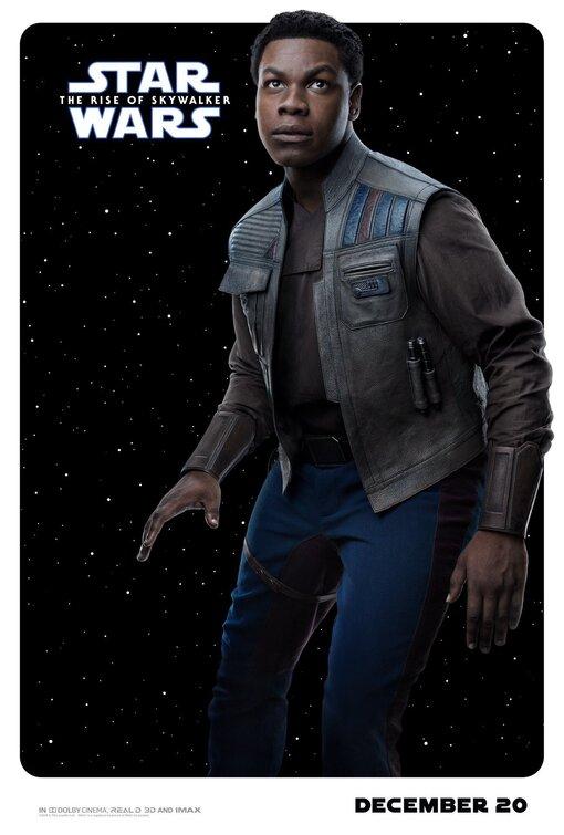 Star Wars Rise of Skywalker Finn poster