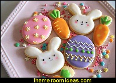 Easter Cookie Cutter Egg, Bunny, Carrot, Flower, Butterfly, Bunny Face, Easter cookie Cutter